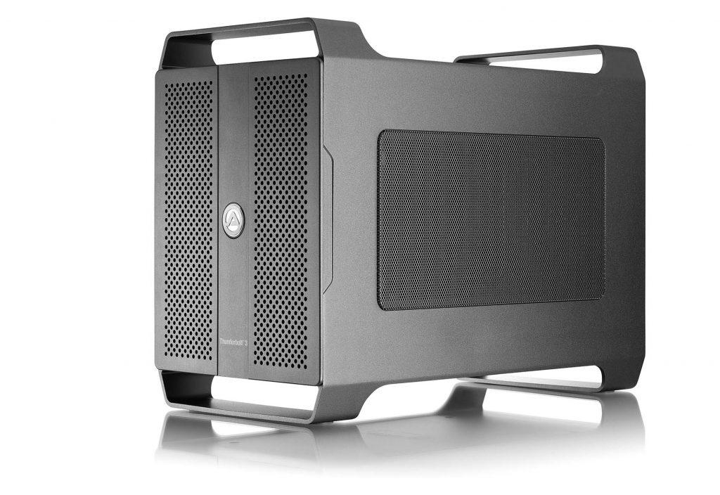 アミュレット、2スロット仕様のThunderbolt 3対応 PCI Express 外付け拡張ボックス「AKiTiO Node Duo」取り扱い開始