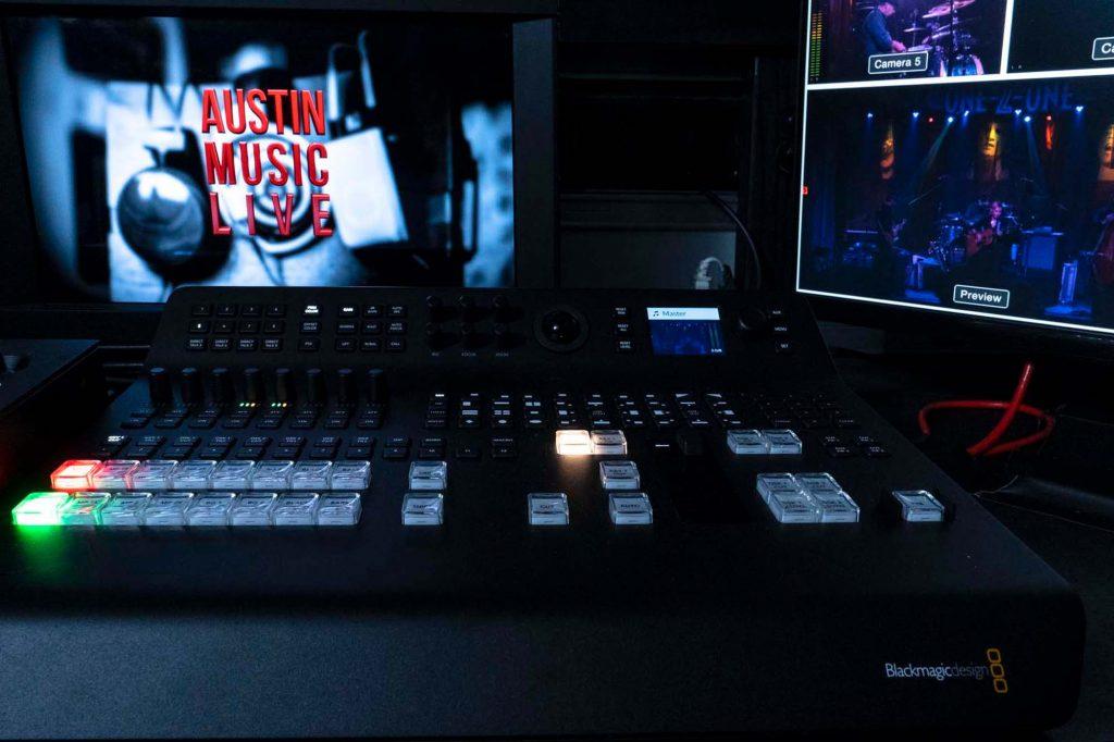 Zodiac StudiosがブラックマジックデザインのATEM Television Studio Pro 4KをAustin Music Liveシリーズで使用