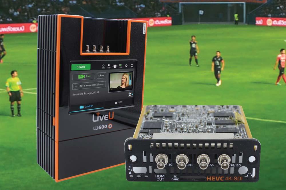 三信電気、LiveU社の新製品『H.265/HEVC 4K SDI』、小型モバイルエンコーダ『LU300』、IP映像マルチ配信システム『Matrix』などInter BEE 2018 に出展