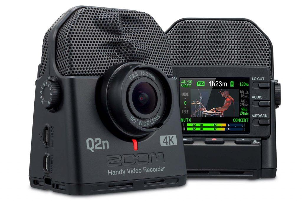 ズーム、4K/HDR撮影が可能な音楽用ビデオレコーダー『Q2n-4K』を11月下旬より発売