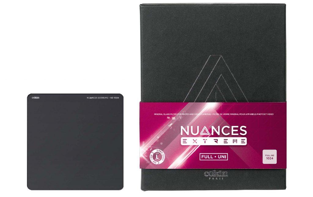 ケンコー・トキナー、Cokin 角型フィルター「ニュアンス・エクストリームND64/ND1024」を発売