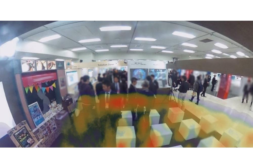 リコー、360°行動分析が可能な「RICOH360 – Analysis」を提供開始