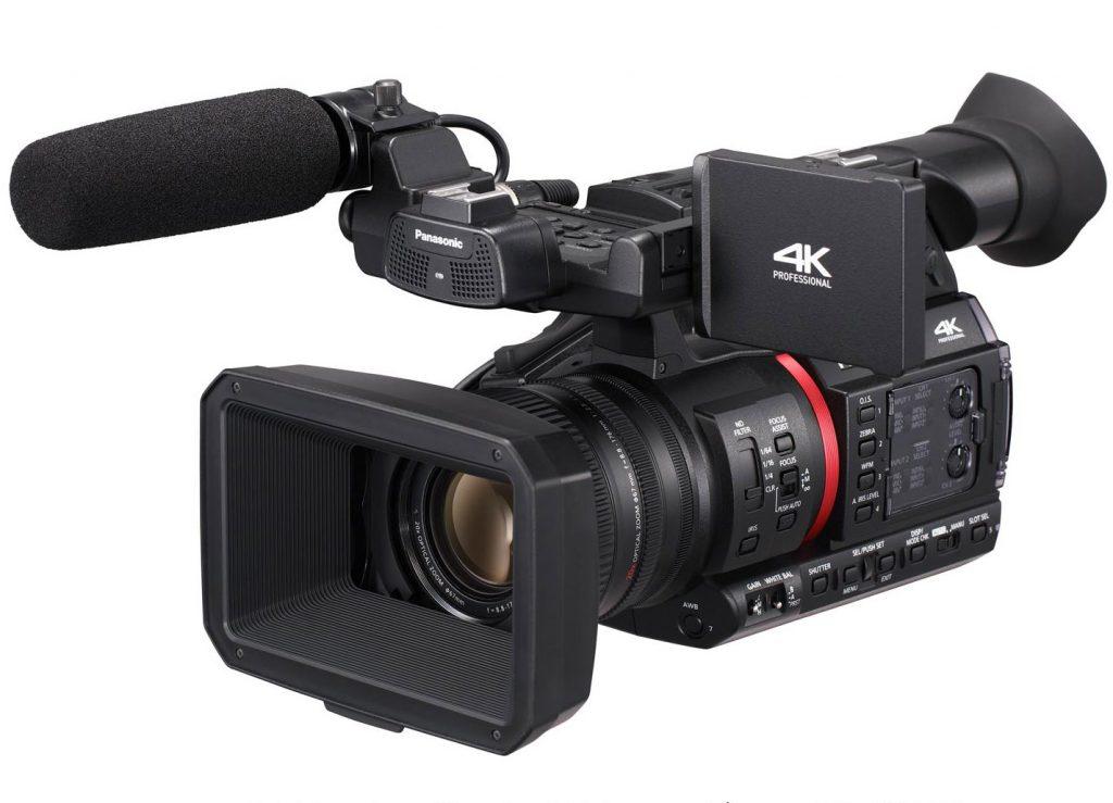 4K/60p、10bit、20倍ズームの1型センサー搭載で、IP接続にも対応した新シリーズのハンドヘルド、パナソニック AG-CX350