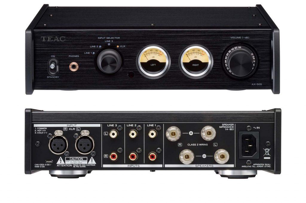 ティアック、音楽が持つダイナミズムを余さず伝えるプリメインアンプ『AX-505』を発売