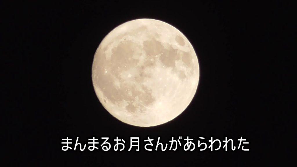 【Views】『秋のひとりごと』2分5秒~雲と格闘しながらもようやく顔を出したまんまるお月様に満足。 しかし、こまいぬには怒られた(笑)