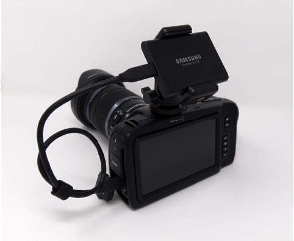 ITGマーケティング、「サムスン ポータブル SSD T5」を Blackmagic Pocket Cinema Camera 4K に取り付けるキット付属モデルを発売