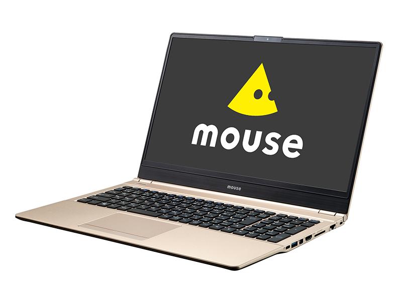 マウスコンピューター、ナローベゼルデザイン採用の新色ゴールド15.6型モデル『 MB-B508H 』、14型モデル『 MB-B401H 』のノートパソコンを発売