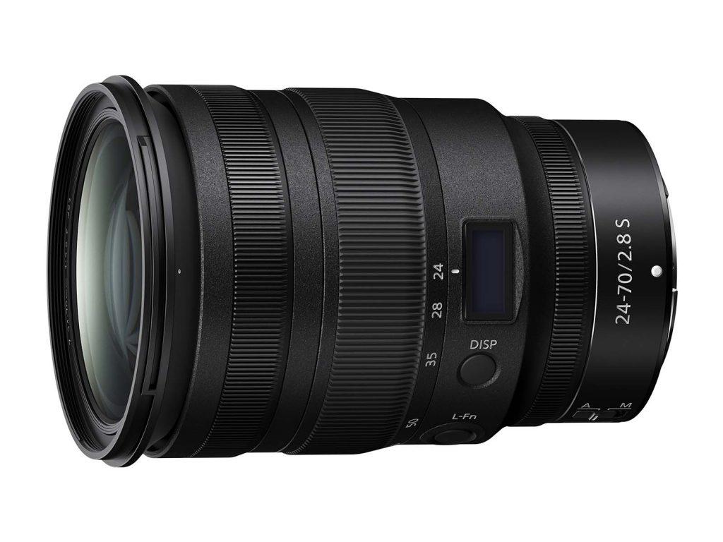 ニコン、Z マウントシステム対応の標準ズームレンズ『 NIKKOR Z 24-70mm f/2.8 S 』を4月に発売