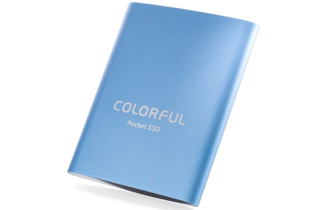 リンクス、USB Type-C対応手のひらサイズの高速ポータブル SSD『 COLORFUL SSD P100 1TB 』を