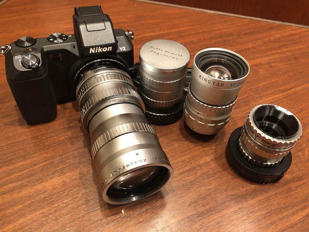 ビデオサロン2019年3月号 レンズ特集「NIKON 1に Cマウントシネレンズとつけて撮る」作例