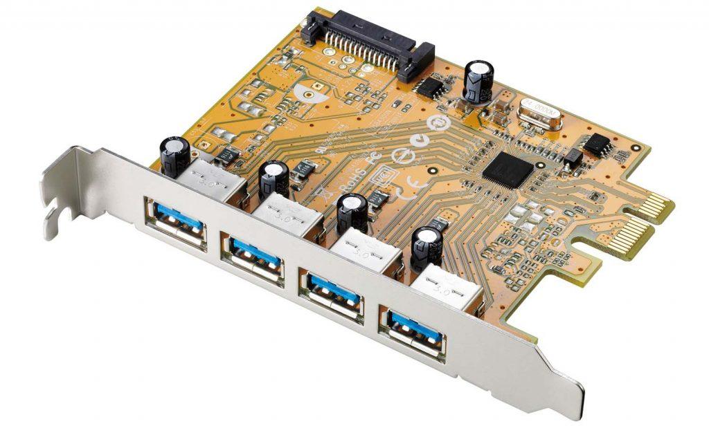 アイ・オー・データ機器、USB 3.1 Gen 1(USB 3.0)ポートを4つ搭載するインターフェイスボード『 US3-4PEXR 』を発売