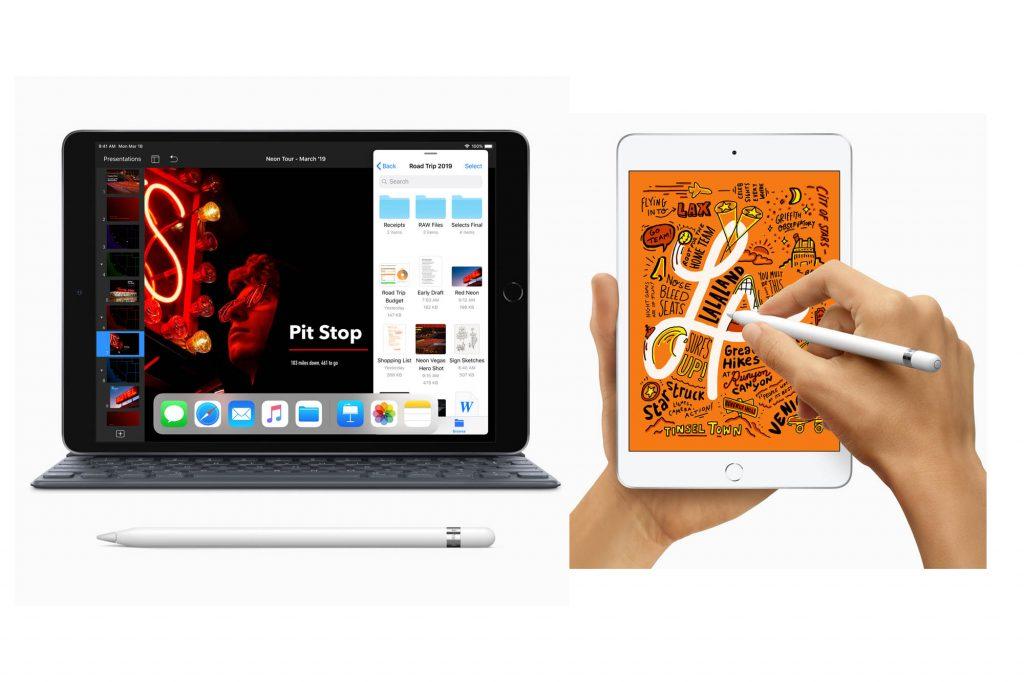 アップル、新しい10.5インチのiPad Airと7.9インチのiPad miniを発表