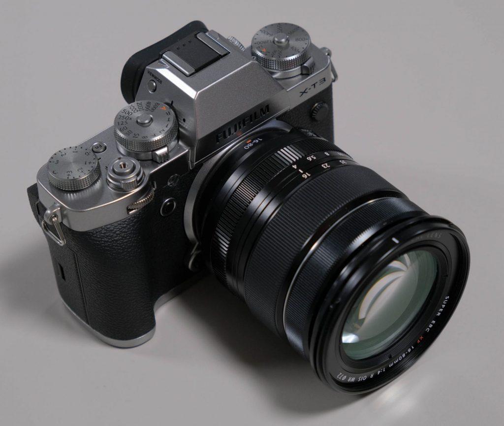 【CP+2019】富士フイルム、Xシリーズの5倍ズームレンズXF16-80mmF4 R OIS