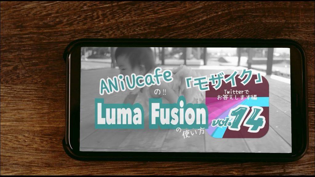【Views】『「LUMAFUSIONの使い方 Twitterでお答えします編」vol.14』4分11秒〜愛娘さんをモデルにシンプルかつ解りやすく解説していく
