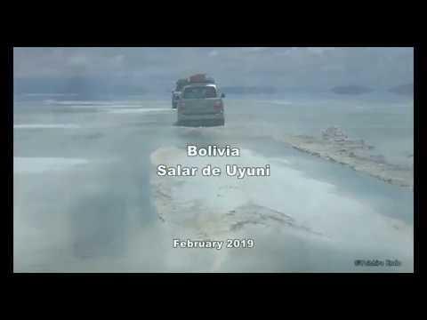 【Views】『Salar de Uyuni 2019 Bolivia ボリビア ウユニ塩湖 2019』4分35秒~鏡面上に果てしなく続く大地で有名なボリビアウユニ塩湖での冒険活劇風ムービー