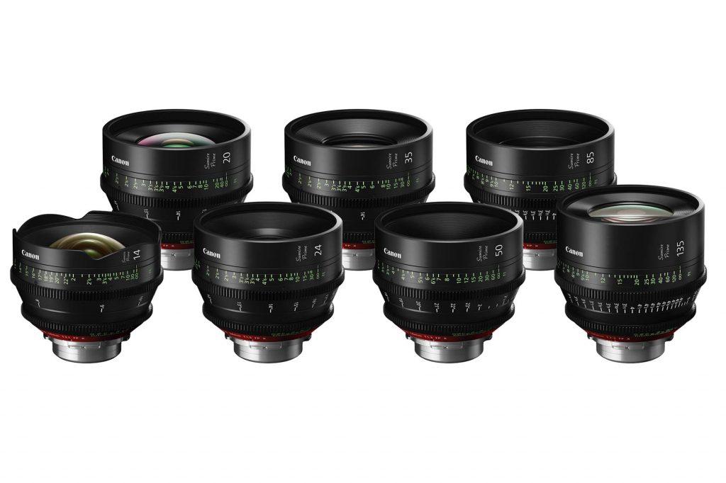 キヤノン、PLマウントのデジタルシネマカメラ用単焦点レンズシリーズ『Sumire Prime』を発売