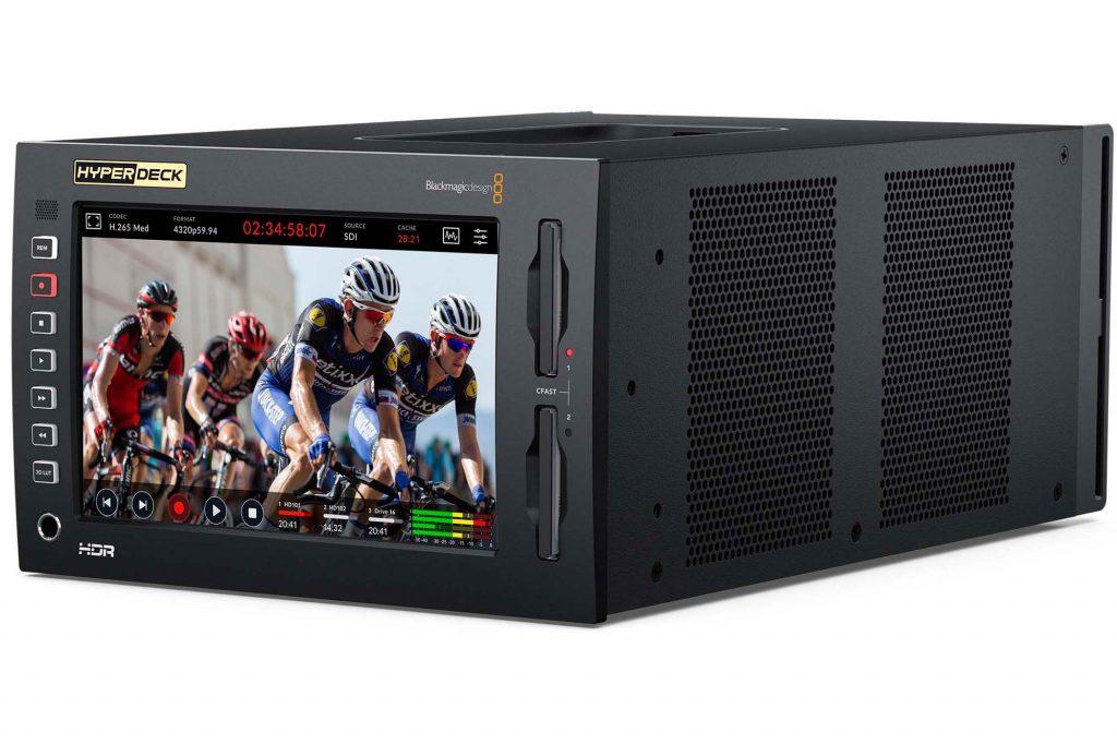 ブラックマジックデザイン、新製品『HyperDeck Extreme 8K HDR』などを発表