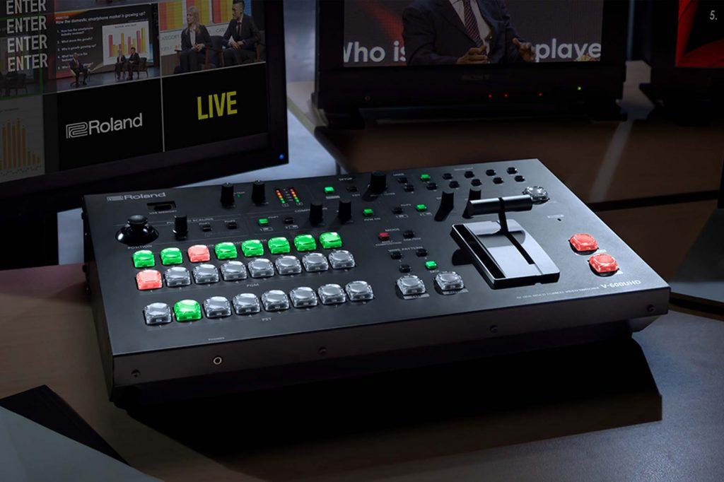 ローランド、「2019 NAB Show」に出展。4K HDR マルチフォーマット・ビデオ・スイッチャー『V-600UHD』などを展示