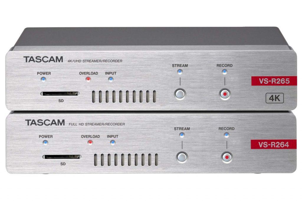 ティアック、世界最大の放送機器展「NAB SHOW 2019」に出展。ストリーミングとSDカード記録が可能な配信収録システムVS-Rシリーズを参考出品。