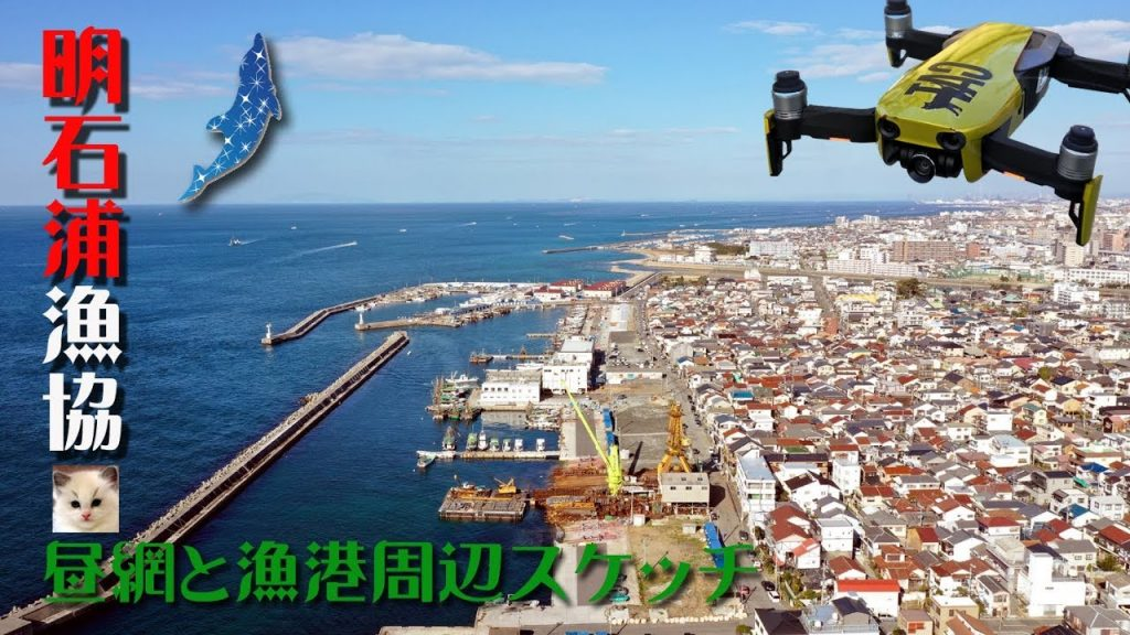 【Views】『明石浦漁協  昼網と漁港周辺スケッチ』3分16秒~活気溢れる漁港の一時を競りやイキのいい魚たちの様子を中心に撮影