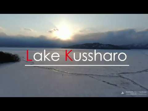 【Views】『屈斜路湖結氷2019 VOL.3』1分40秒~氷結した湖面に積雪してその姿はまさに絶景。最後まで抵抗するかのような湖面の筋も見どころ