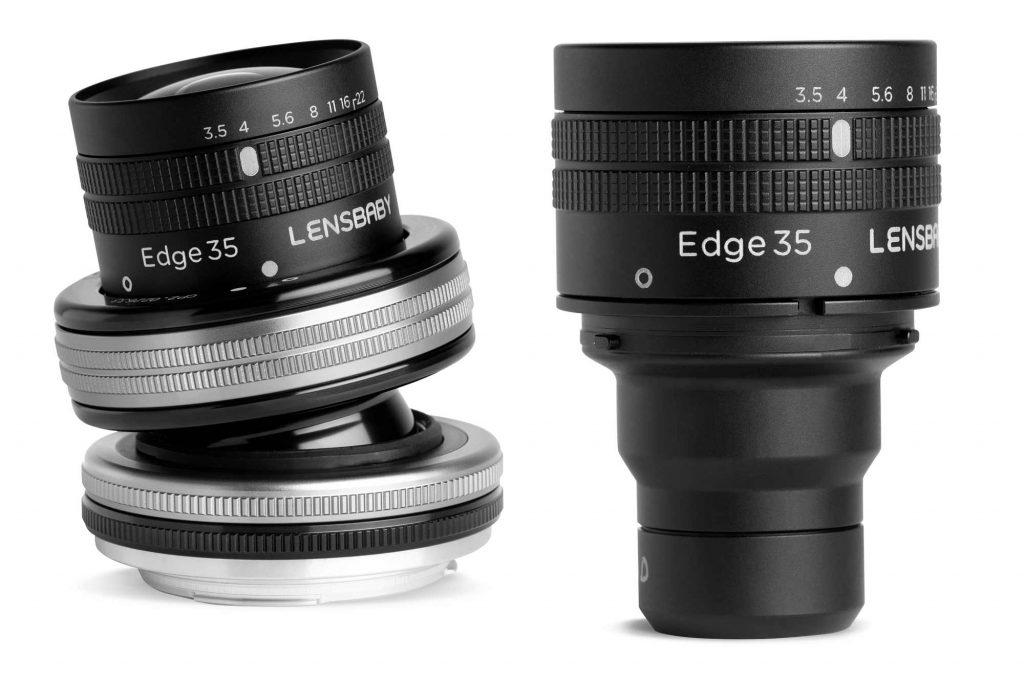 ケンコー・トキナー、Lensbaby社の35mm F3.5のティルトレンズ『コンポーザープロIIエッジ35』とレンズユニット『Lensbaby エッジ35オプティック』を発売