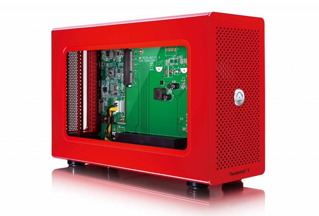 アミュレット、Thunderbolt 3対応 PCI Express 外付け拡張ボックス『AKiTiO Node Lite-R』を発売
