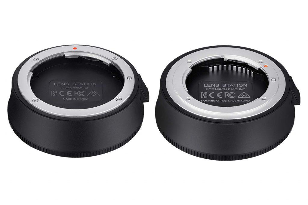 ケンコー・トキナー、SAMYANG製レンズの調整・ファームアップ機能をサポートする『SAMYANG Lens Station キヤノンEF用・ニコンF用』を発売