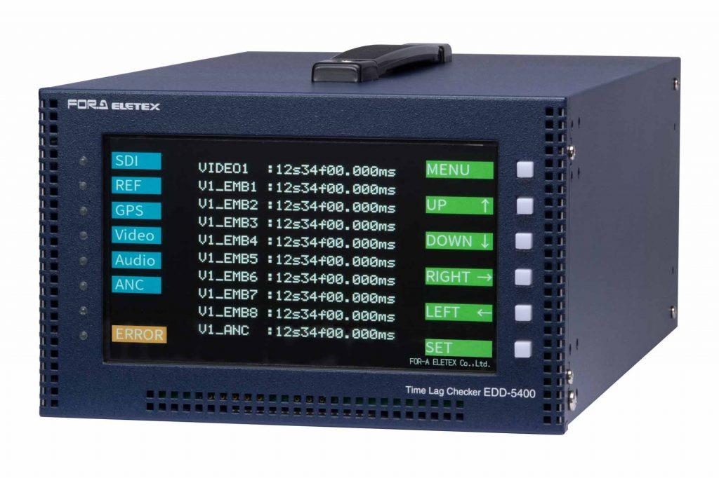 朋栄、エレテックス製4K対応タイムラグチェッカー『EDD-5400』を発売
