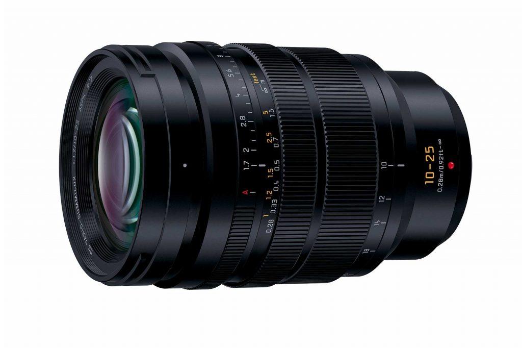 パナソニック、マイクロフォーサーズ用レンズ『LEICA DG VARIO-SUMMILUX 10-25mm/F1.7 ASPH.』を発売