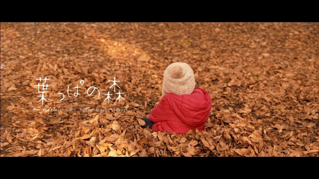 【Views】『葉っぱの森~ My daughter with Fallen leaves forest~』5分54秒〜母娘が訪れた公園の一角の小さな森の物語。幸せな一時をまるで絵本のように物語にしてしまった作者のプチ・ファンタジー