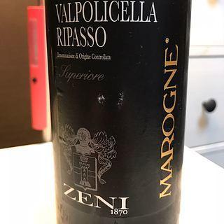 Zeni Marogne Valpolicella Ripasso Superiore(ゼーニ マローニェ ヴァルポリチェッラ・リパッソ スペリオーレ)