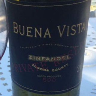 Buena Vista Sonoma Privete Riserve Zinfandel