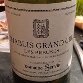 Dom. Servin Chablis Grand Cru Les Preuses