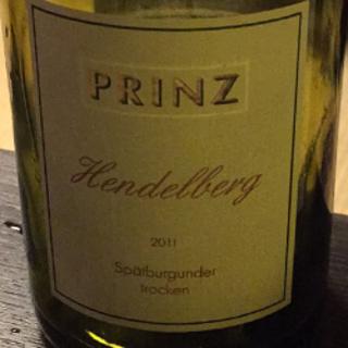 Prinz Hendelberg Spätburgunder trocken