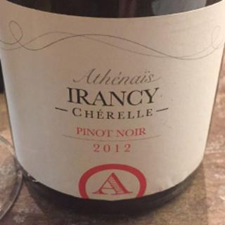 Athénaïs Irancy Cherelle Pinot Noir