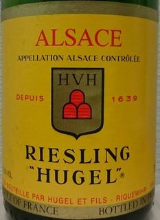 Hugel Riesling(ヒューゲル リースリング)