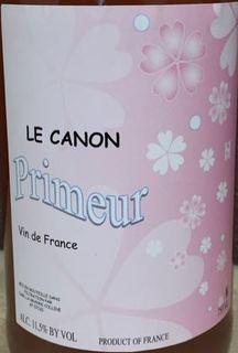 Le Canon Rosé Primeur