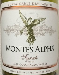 Montes Alpha Syrah