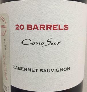 Cono Sur 20 Barrels Cabernet Sauvignon