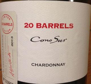 Cono Sur 20 Barrels Chardonnay