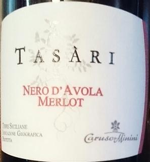 Caruso & Minini Tasàri Nero d'Avola Merlot