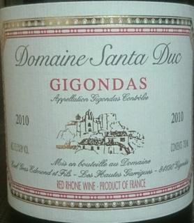 Dom. Santa Duc Gigondas
