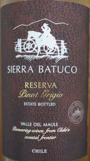Sierra Batuco Reserva Pinot Grigio
