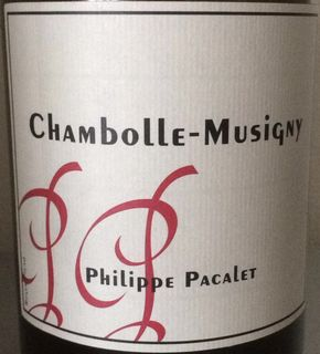 Philippe Pacalet Chambolle Musigny