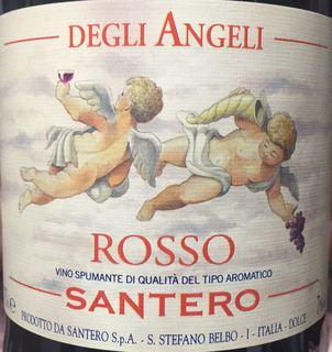 Santero Rosso Degli Angeli