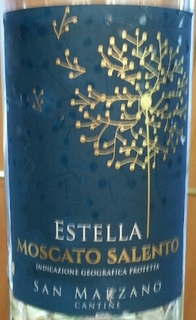 San Marzano Estella Moscato Salento(サン・マルツァーノ エステッラ モスカート・サレント)