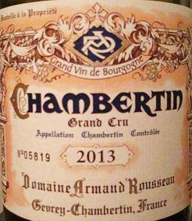 Dom. Armand Rousseau Chambertin Grand Cru