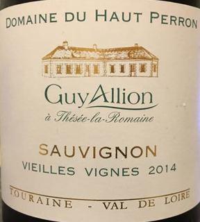Guy Allion Dom. du Haut Perron Sauvignon Vieilles Vignes