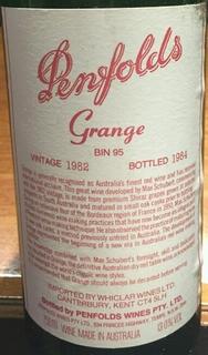 Penfolds Bin 95 Grange